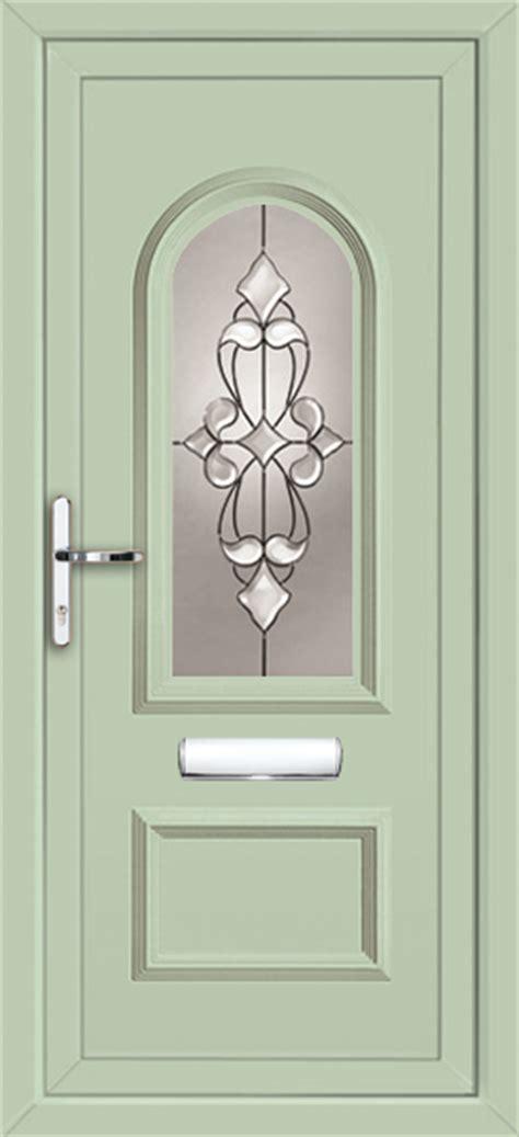 Coloured Upvc Front Doors Chartwell Green Upvc Front Door