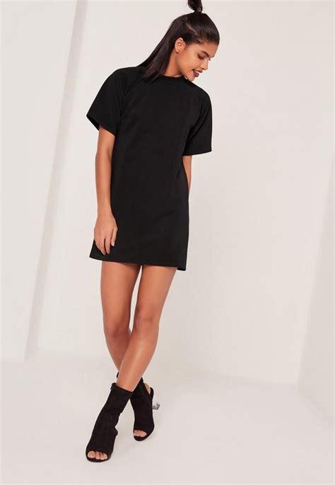 Sleeve Oversized T Shirt sleeve oversized t shirt dress black missguided