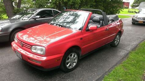 buy used 1996 volkswagen cabrio base convertible 2 door 2 0l in bemus point new york united