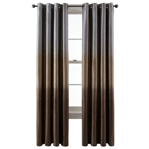 jcpenney drapery panels jcpenney studio dylan ombr 233 grommet top curtain panel