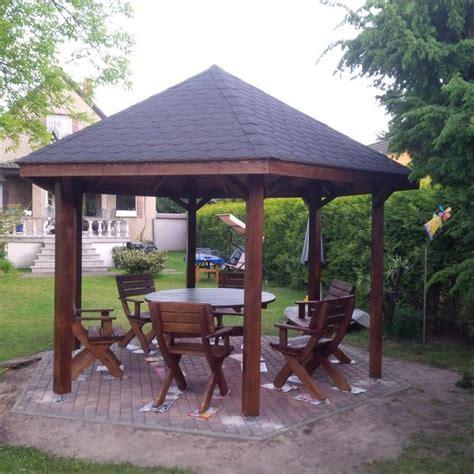 pavillon auf terrasse pavillon altane carport vom pflastern bis auf aufbauu in