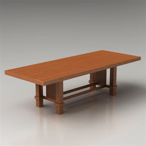 frank lloyd wright table 3d taliesin 2 table by frank lloyd wright high quality