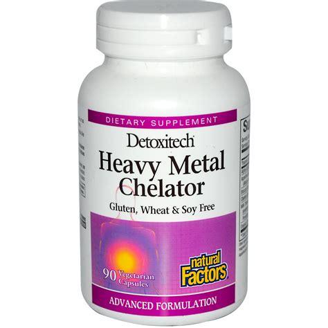 Detox Blood Brain Barrier by Factors Detoxitech Heavy Metal Chelator 90