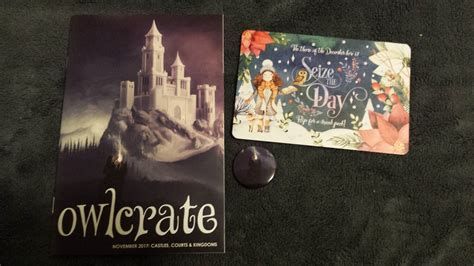 Forever21 Finally Forging Its Own Path by Books Big Wyrms Owlcrate Unboxing November 2017