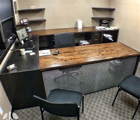 home office furniture wood reclaimed wood office desk 10 chic ideas
