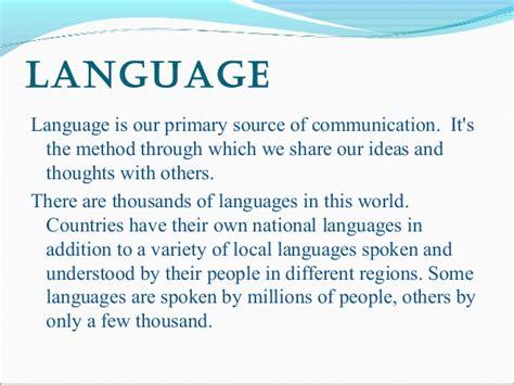 biography of english language importance of english language