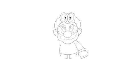 coloring pages mario odyssey how to draw super mario odyssey https youtu be nf