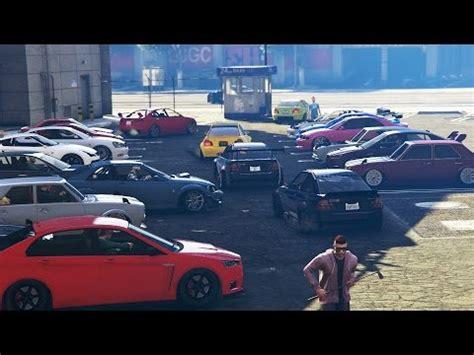jdm car meet gta 5 online jdm car meet youtube