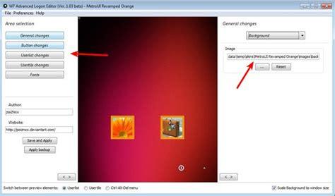 theme viewer free download for windows 7 free windows 7 logon theme editor advanced logon editor