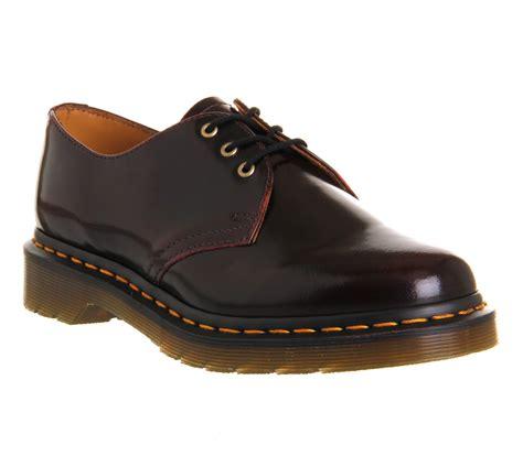womens dr martens 1416 shoes cherry flats