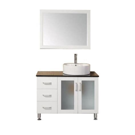 design elements vanity home depot design element malibu 39 in w x 22 in d vanity in white
