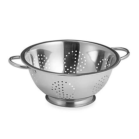 Kitchen Designer Online Free Focus Stainless Steel 5 Qt Colander Bed Bath Amp Beyond