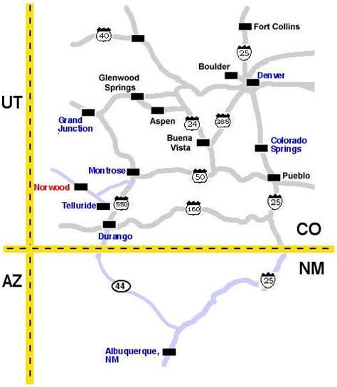 colorado airports map airports in colorado