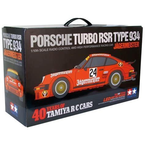Tamiya Porsche 934 J 228 Germeister 40 Jahre Tamiya Rc Ta02sw