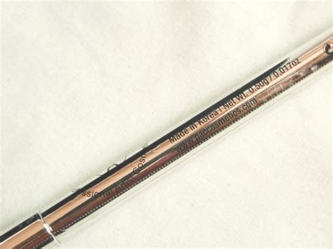 Eyeliner Pac pac cosmetics duo eyeliner pencil review swatch eotd marc dupe
