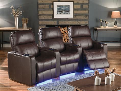 tulsa movie theaters with recliners elite bonded leather home theatre seating psr 41952