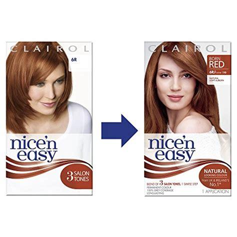 clairol n easy light auburn clairol n easy permanent hair dye light
