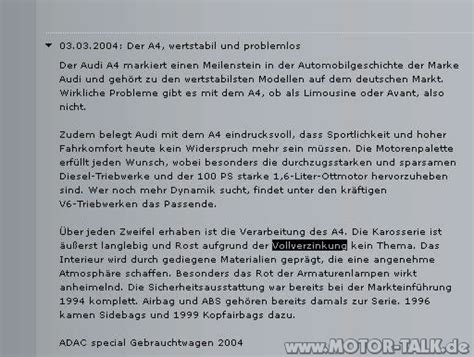 Audi Kulanzantrag by Bild 2 S4 Rost An Der Hecklappe Kulanzantrag Stellen