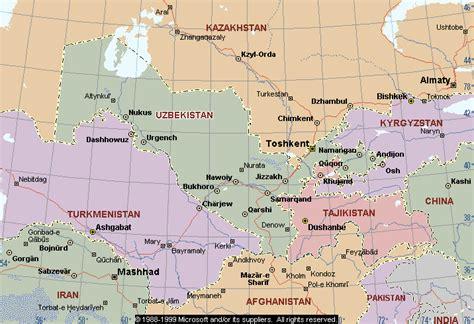 Uzbekistan Search Map Of Uzbekistan Republic Of Uzbekistan Maps Mapsof Net