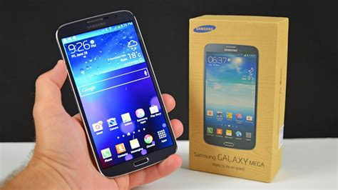 samsung galaxy mega  unboxing review youtube