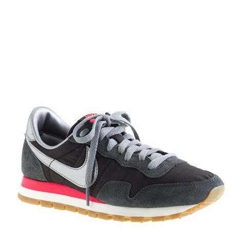 Nike Vegasus Classik j crew nike vintage collection air pegasus 83 sneakers in black black metallic lyst