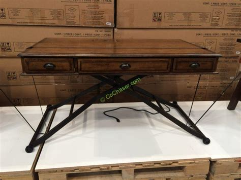 costco sit stand desk turnkey sit n stand desk adjustable height costcochaser