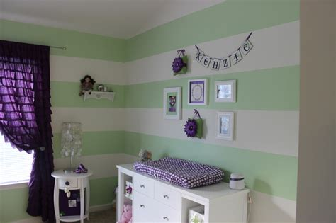 Toddler Bedroom Ideas For Girls purple and green nursery project nursery