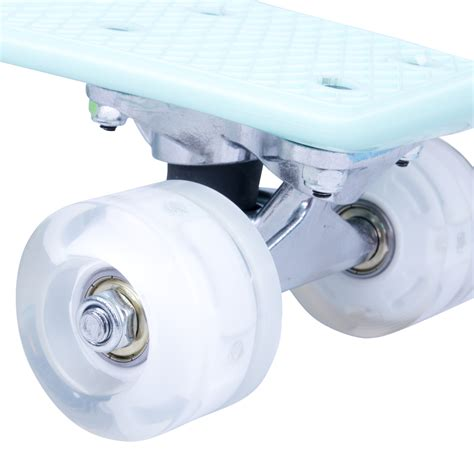 Board Light Up Wheels mini board worker pico 17 quot with light up wheels