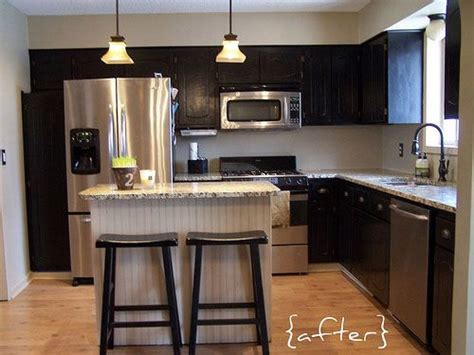 affordable kitchen makeovers 40 best images about travel trailer remodeling on