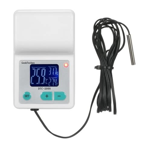 Thermocouple Thermostat buy meterk electronic thermostat led digital display temperature controller