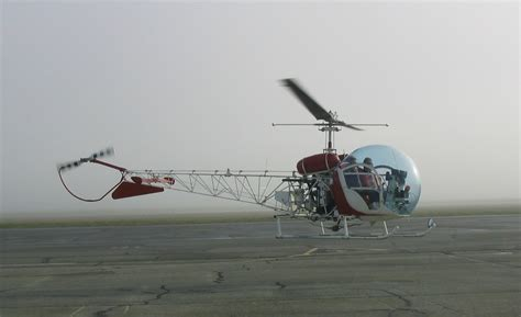 Helicopter Bell jet airlines bell 47 helicopter