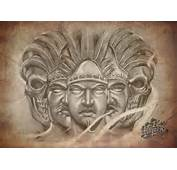 Whyner Art Graphite Pencil Chicano Flash Tattoo Black And