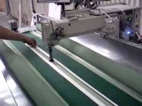 awning sewing machine automatic sewing machine for blinds and awnings youtube