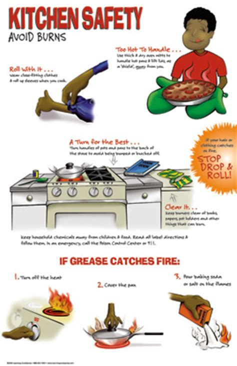 Kitchen Safety by October 2014 Allaboutmanners