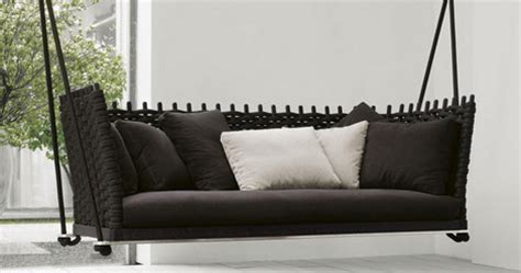 Hanging Sofa Swing by Italian Casual Furniture By Lenti New Ami And Wabi