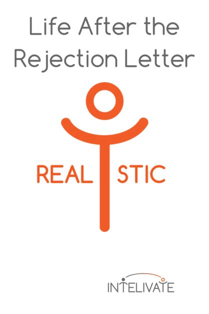 Rejection Letter Buffer after the rejection letter intelivate