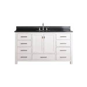 60 inch single sink bathroom vanity with choice of top