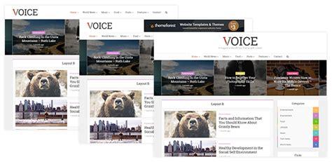 themeforest voice voice clean news magazine wordpress theme wordpress