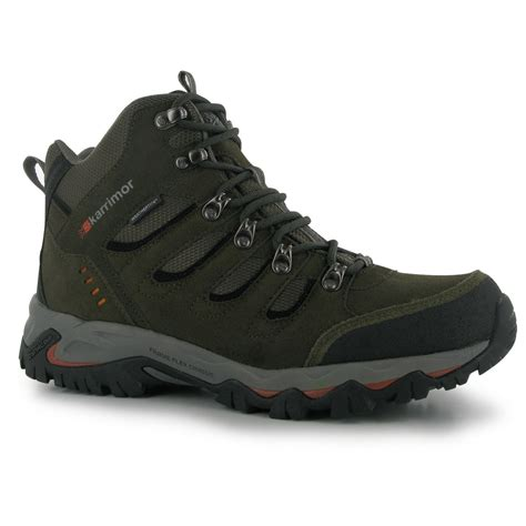 Karrimor Hiking karrimor mens mount mid walking boots shoes breathable