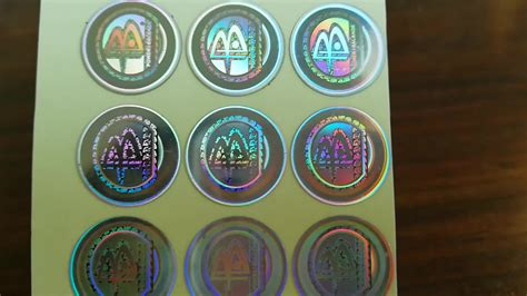 Hologram Stickers Buy