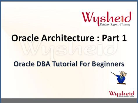 oracle tutorial beginners oracle database architecture part 1 oracle tutorial for