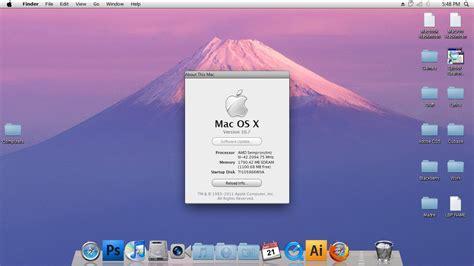 themes for windows 7 mac os x mac os x lion theme pack win 7 by djtransformer01 on