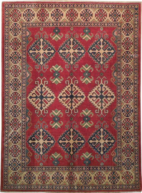 5x7 beige made kazak original rug bestrugplace