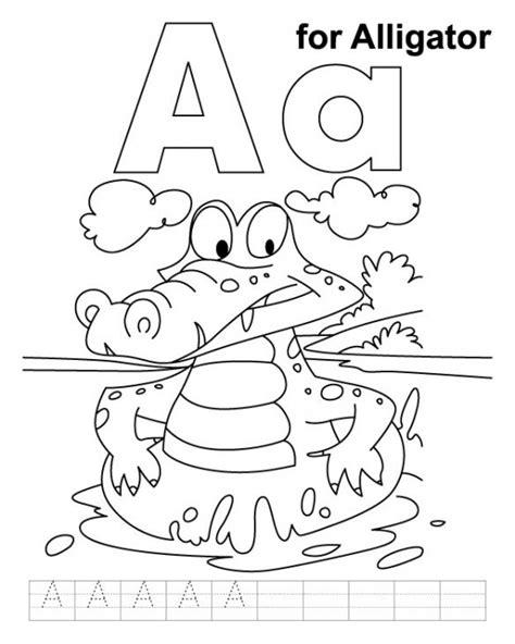 alligator coloring page  print  kids