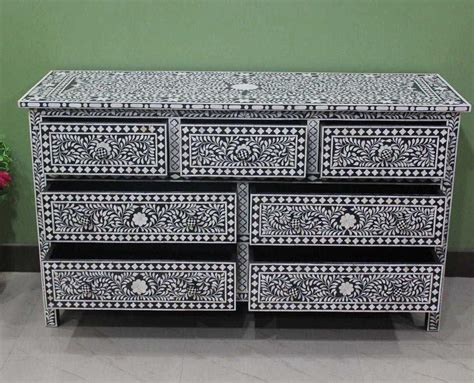 Inlay Furniture by Bone Inlay Chest Bone Of Pearl Inlay Furniture
