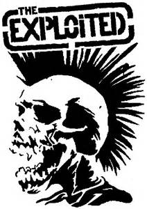 Bedroom Wall Stencils by The Exploited Punks Not Dead Pinterest The O Jays