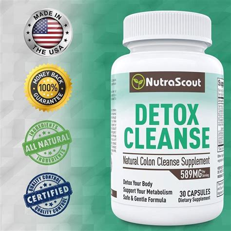 15 Day Colon Detox And Cleanse Nutriflaire by 1 Detox Cleanse Supplement By Nutrascout 15 Day Colon