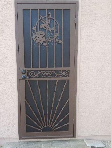 Decorative Security Screen Doors by 17 Best Images About Screen Doors On Metal