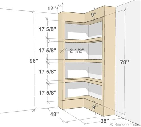 Corner Bookcase Plans Woodwork Corner Bookshelf Building Plans Pdf Plans