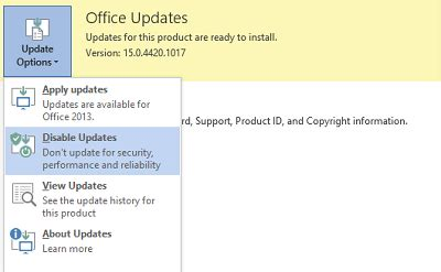 Update Office by How To Update Office 2013 Manually